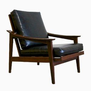 Poltrona reclinabile vintage
