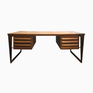 Rosewood Desk by Kai Kristiansen for Feldballes Møbelfabrik, 1960s