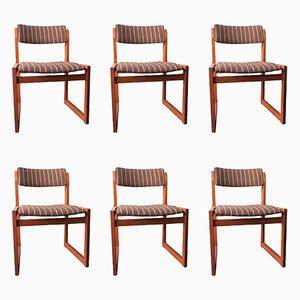 Danish Teak Modernist Chairs from KS Møbler, 1960s, Set of 6