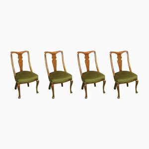 19th Century Mahogany Chairs, Set of 4