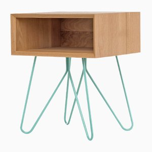 Nove Side Table in Blue by Mendes Macedo for Galula