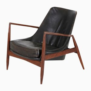 Seal Chair Vintage par Ib Kdeod-Larsen pour OPE, 1956