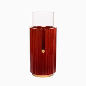 Vaso grande Pin Up I rosso di Cristina Celestino per Paola C.
