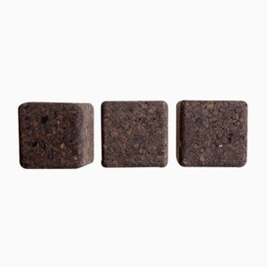Pega Dark Cork Hooks by Mendes Macedo for Galula, Set of 3