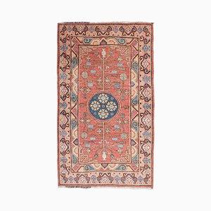 Samarkand Teppich mit Blumen & Ästen, 1920er