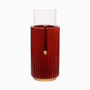 Kleine Pin Up II Vasein Rot von Cristina Celestino für Paola C.