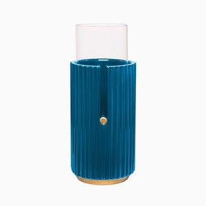 Kleine Pin Up II Vasein Blau von Cristina Celestino für Paola C.