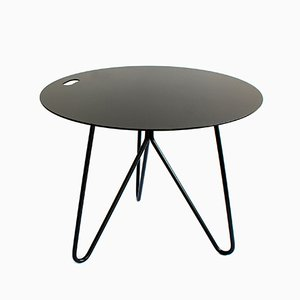 Seis Center Table in Black by Mendes Macedo for Galula