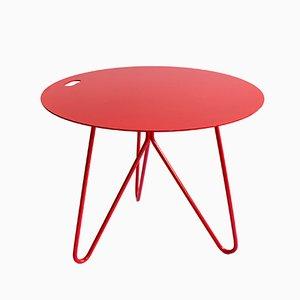 Seis Tisch in Rot von Mendes Macedo für Galula