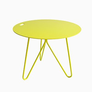 Seis Center Table in Yellow by Mendes Macedo for Galula
