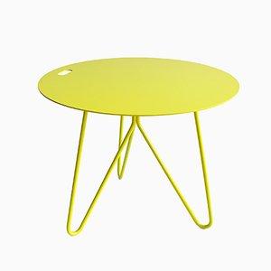 Seis Tisch in Gelb von Mendes Macedo für Galula