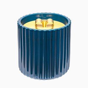 Caja Rossana I grande de cerámica en azul de Cristina Celestino para Paola C.