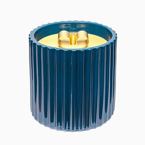 Large Rossana I Ceramic Box in Blue by Cristina Celestino for Paola C.