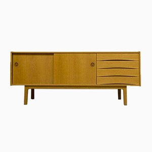 Vintage Danish Oak Sideboard