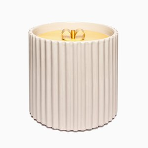 Small Rossana II Ceramic Box in Ivory by Cristina Celestino for Paola C.