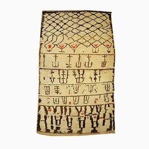 Vintage Beni Ourain Berber Rug