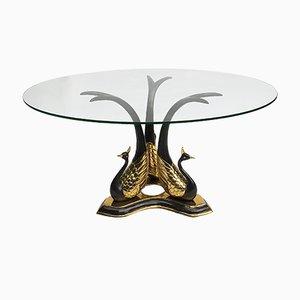 Table Basse ou Table d'Appoint Vintage en Laiton