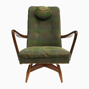 Mid-Century Danish Swivel Chair, 1950s
