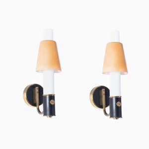 Wall Sconces by Gaetano Sciolari, 1950s, Set of 2