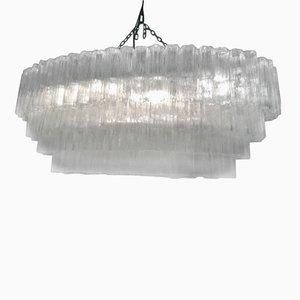 Lámpara de araña Tronchi de Franco Luce para Venini, años 60