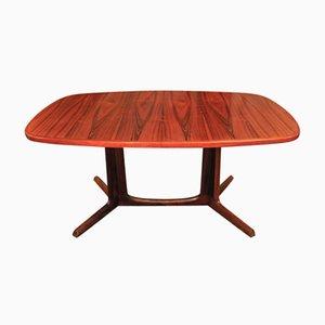 Table à Salle à Manger Extensible en palissandre par Niels Otto Møller pour Gudme Møbelfabrik, 1950s