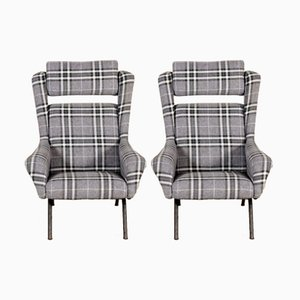 Armchairs from Cassina, 1960s, Set of 2