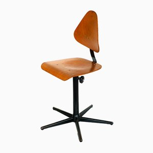 Mid-Century Industrial Workshop Chair from Bosch
