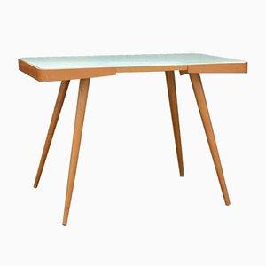 Table Basse en Verre Opalin par Jiri Jiroutek pour Český Nábytek, 1960s