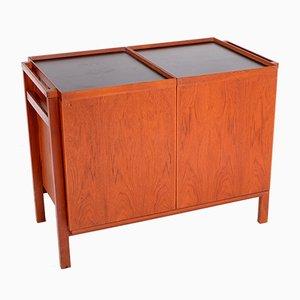 Mueble bar escandinavo extensible, años 70