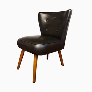 Mid-Century Black Cocktail Bartholomew Chair