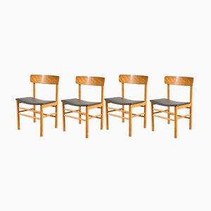 Sedie da pranzo di Farstrup Mobler, Danimarca, anni '60, set di 4