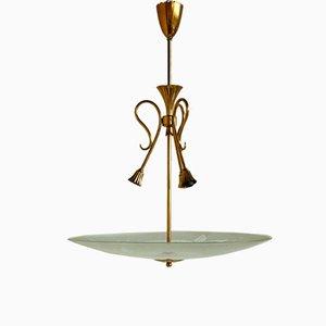 Mid-Century Italian Pendant Lamp, 1950s