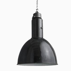 Lámpara colgante alemana de fábrica, años 20