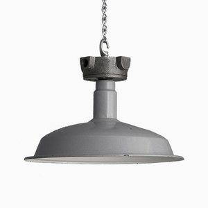Industrial Pendant Lamp, 1950s