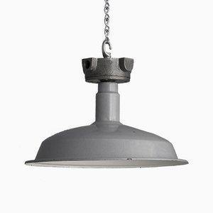 Lampe à Suspension Industrielle, 1950s