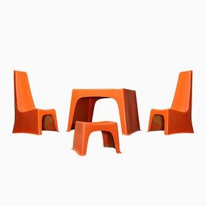 Set di arredamento per bambino Poly Ben Twen di Brüder Beltzig Design, 1967
