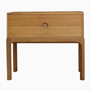 Model 384 Oak Low Chest from Aksel Kjersgaard, 1950s