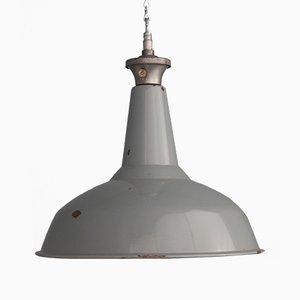 Lampes à Suspension Émaillée de Benjamin, 1950s