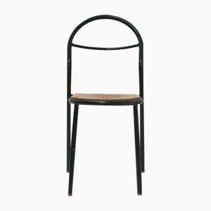 Stapelbarer Stuhl von René Herbst für Mobilor, 1950er