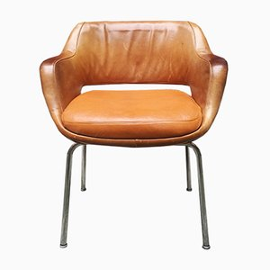 Leather Desk Chair from Cassina, 1960s