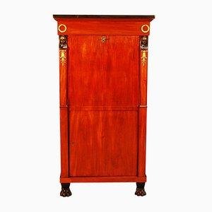 Secreter de caoba, década de 1800