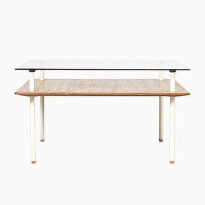 Modernist Coffee Table by Elmar Berkovich for Metz & Co, 1930s