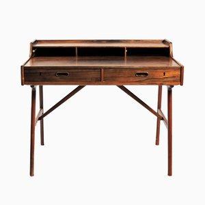 Palisander Schreibtisch von Arne Wahl Iversen für Vinde Møbelfabrik, 1960er