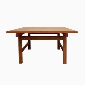 Tavolino da caffè di Hans J. Wegner per Andreas Tuck, anni '60