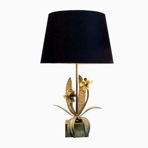 Lampe de Bureau Mid-Century en Bronze