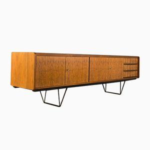 Walnut Veneer Sideboard, 1950s