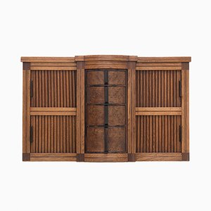 Art Deco Wall Mounted Cabinet, 1930s