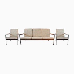 2 Sessel & Sofa von Rob Parry für Gelderland, 1960er