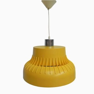 Lámpara colgante vintage de plástico