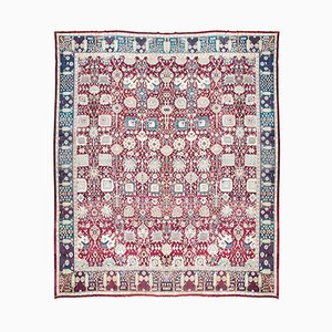 Tapis Antique en Agra, Inde